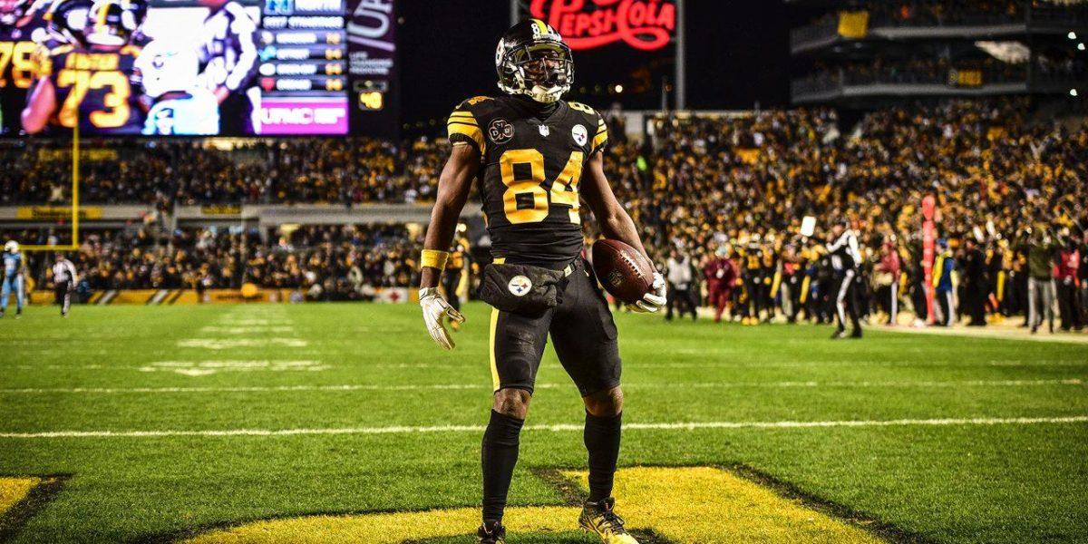 Pittsburgh Steelers WR Antonio Brown