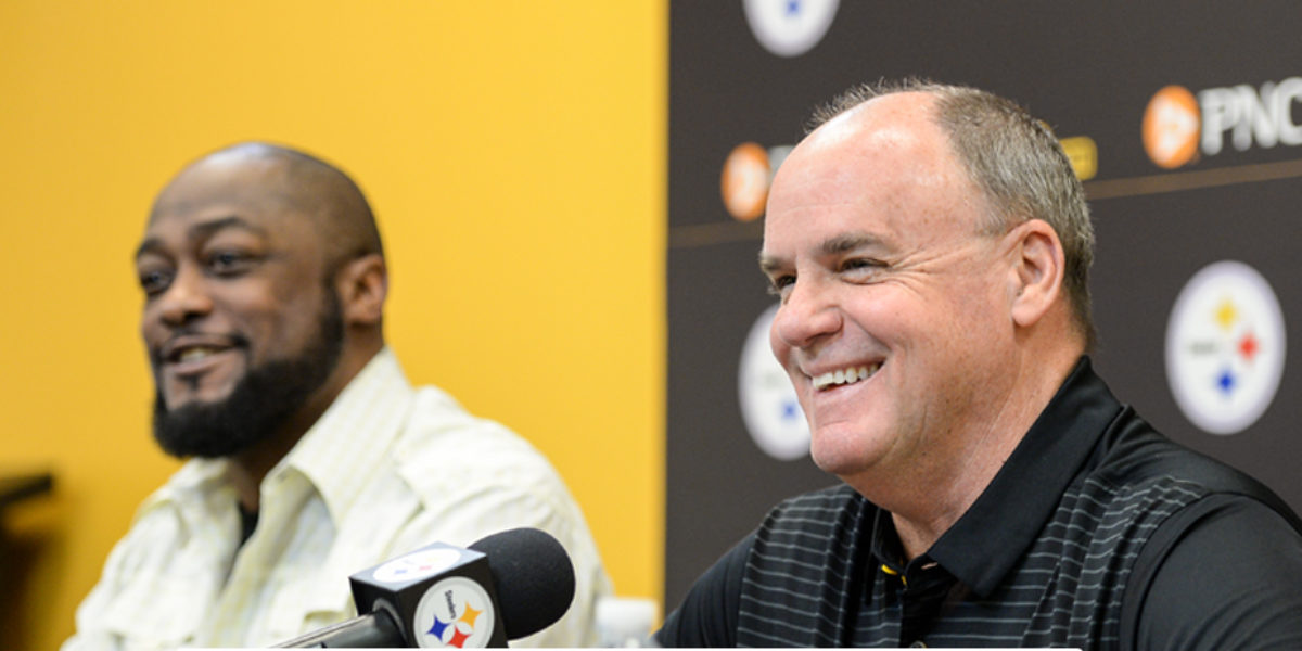 Kevin Colbert and Coach Tomlin Pre-Draft Press Conference