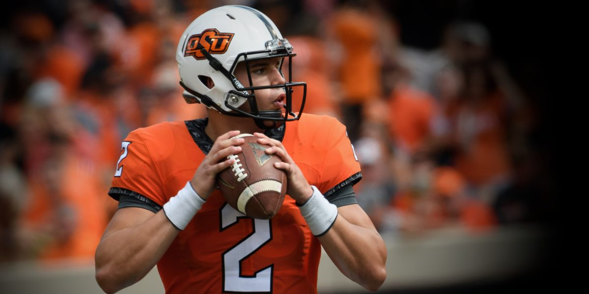 wholesale dealer 5d22e f610b Mason Rudolph joins the Pittsburgh Steelers as the 76th ...