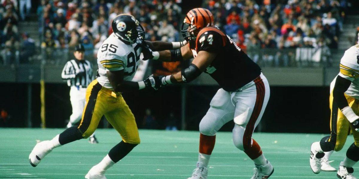Pittsburgh Steelers linebacker Greg Lloyd