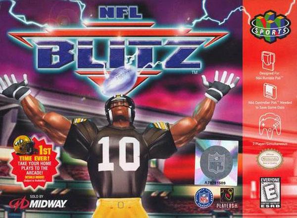 NFL Blitz for N64