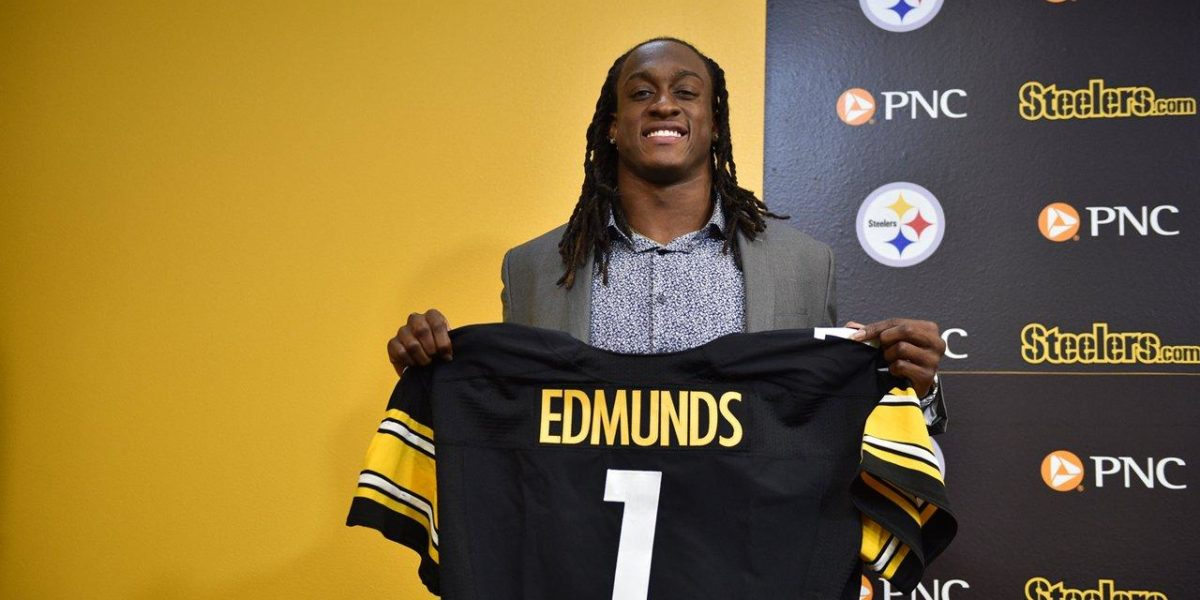 Pittsburgh Steelers safety Terrell Edmunds