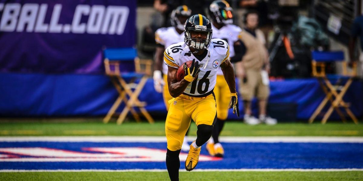 Pittsburgh Steelers WR Marcus Tucker
