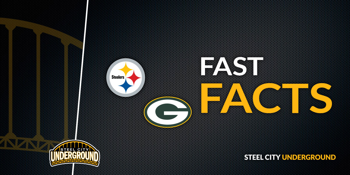 Fast Facts: Steelers vs. Packers