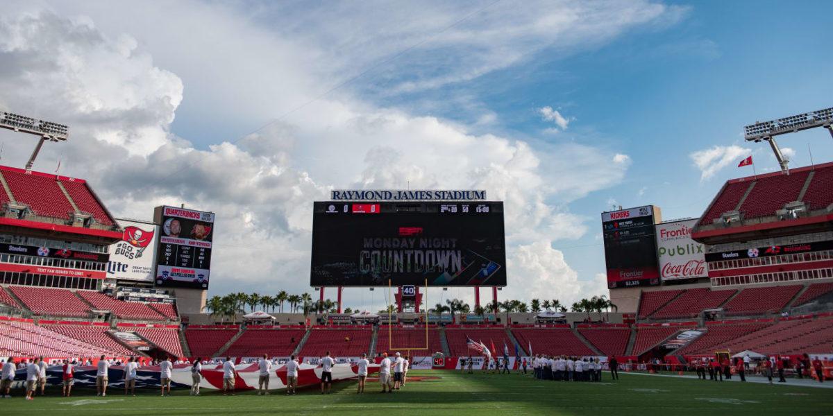 Raymond James Stadium in Tampa, Florida