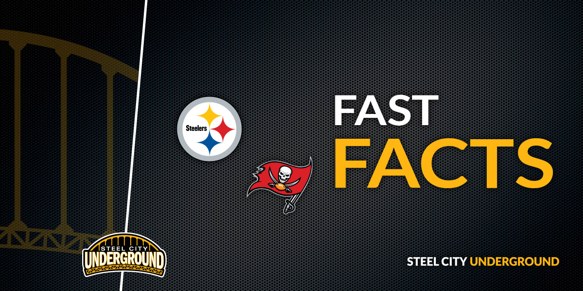 Steelers vs. Bucs Fast Facts