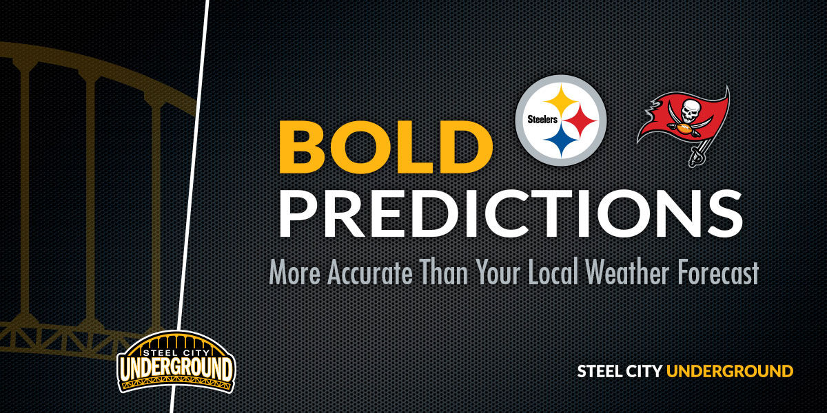 Steelers vs. Bucs Bold Predictions