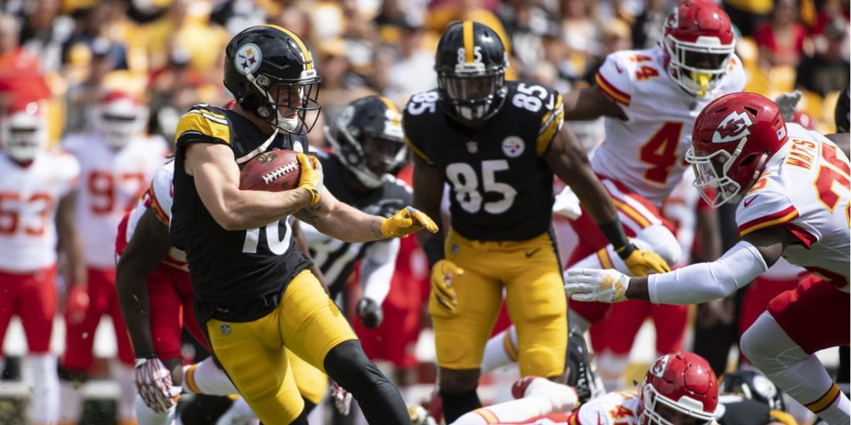 Pittsburgh Steelers WR Ryan Switzer