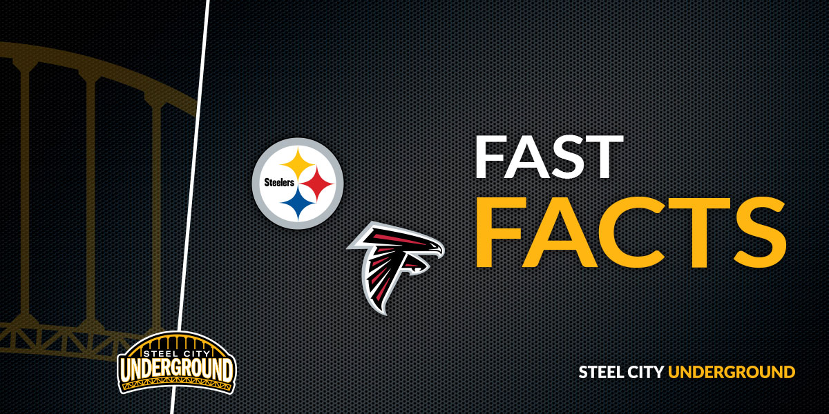 Steelers vs. Falcons Fast Facts