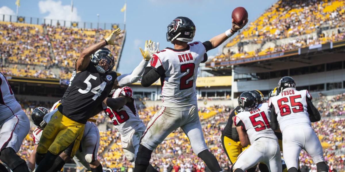 Pittsburgh Steelers LB L.J. Fort