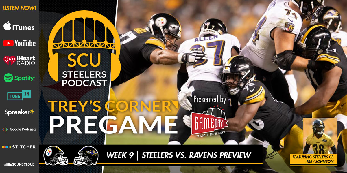 Trey's Corner: Steelers set for season-altering showdown in Baltimore