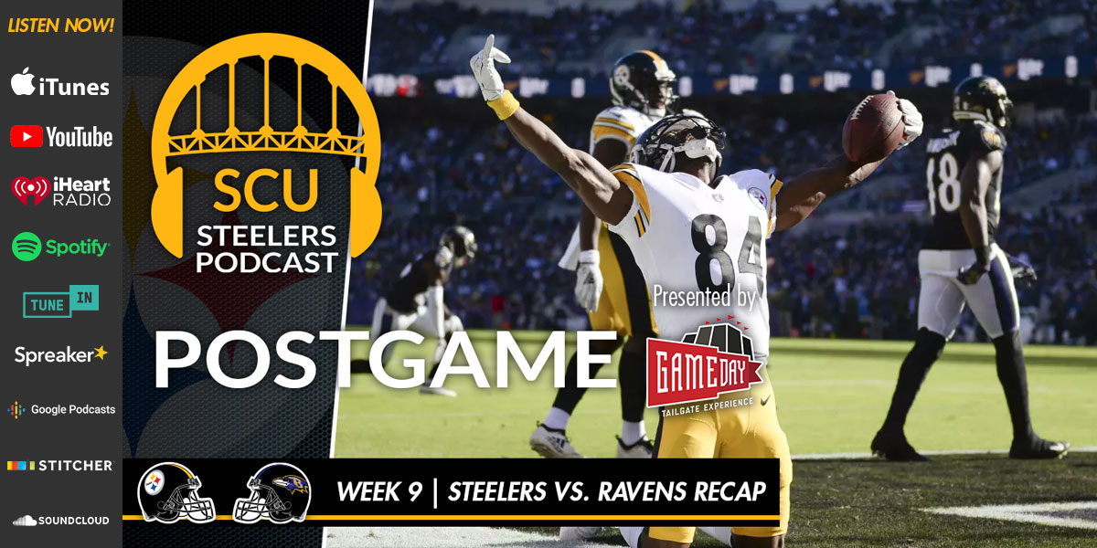 Gameday Tailgate Experience presents the Steel City Underground Steelers Podcast
