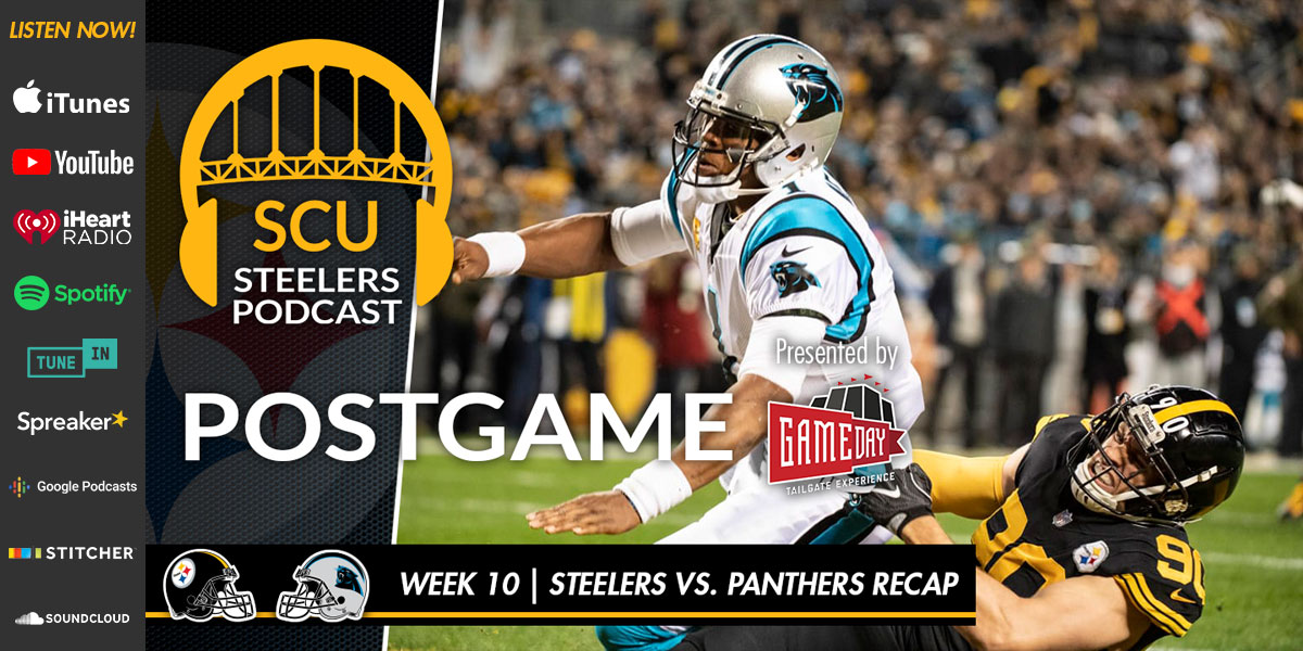 Gameday Tailgate Experience presents the Steel City Underground Steelers Podcast: Panthers Recap