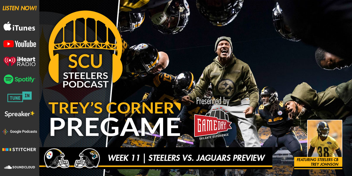 Trey's Corner: Steelers set for rematch against the Jaguars