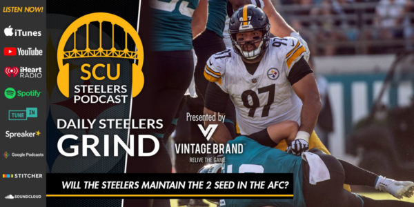 6ded6d705 Daily Steelers Grind  Will the Steelers maintain the 2 seed in the AFC