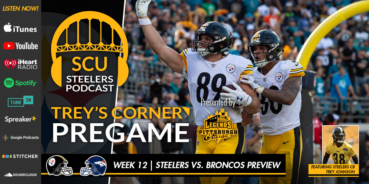 Trey's Corner: Will the Steelers surge, survive, or stumble this Sunday at Mile High?