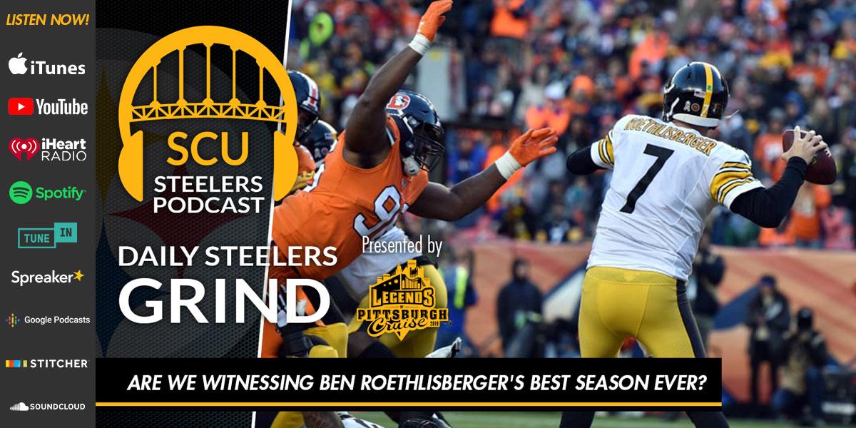 Are we witnessing Ben Roethlisberger's best season ever?