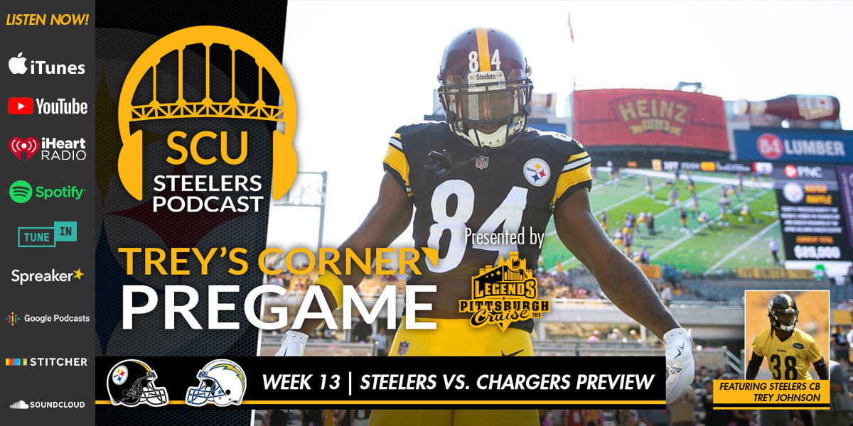 Contenders clash as the Steelers host the Chargers Sunday night at Heinz Field
