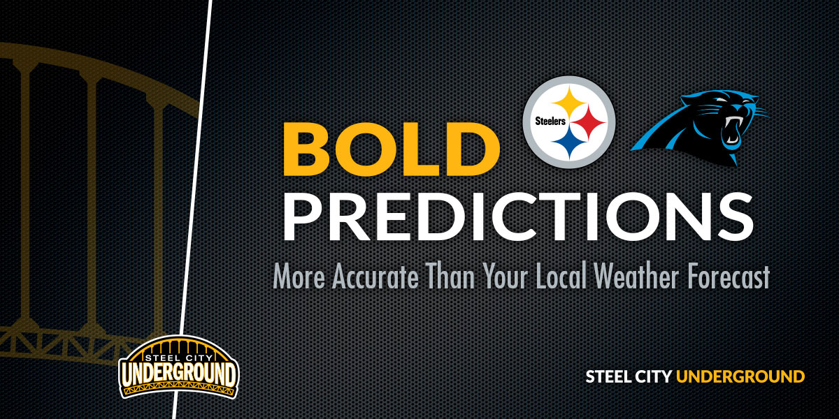 Steelers vs. Panthers Bold Predictions