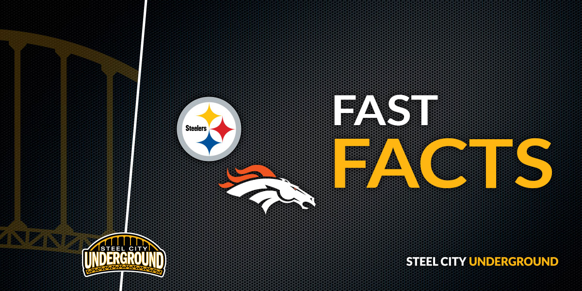 Steelers vs. Broncos Fast Facts