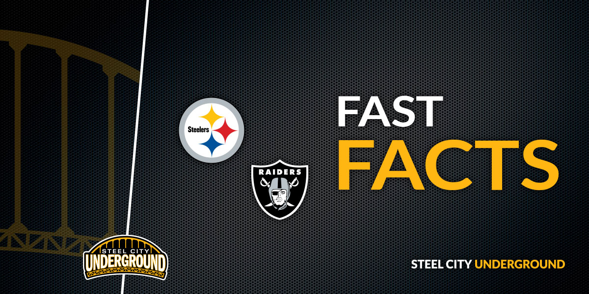Steelers vs. Raiders Fast Facts