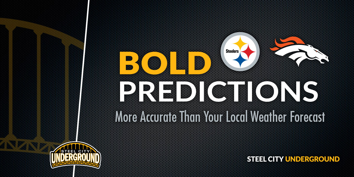 Steelers vs. Broncos Bold Predictions