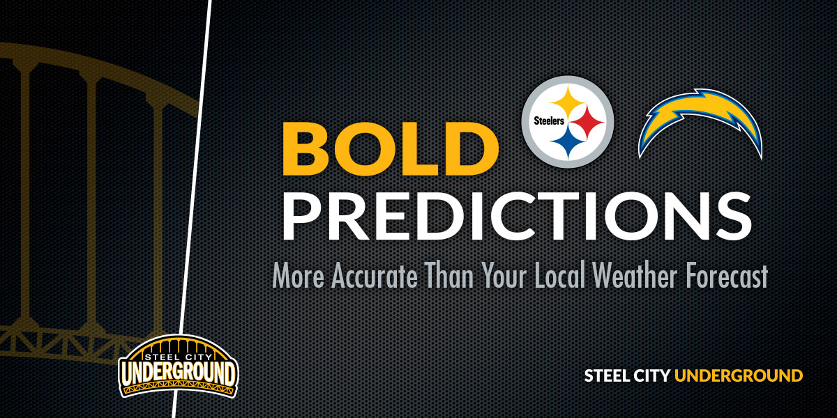 Steelers vs. Chargers Bold Predictions