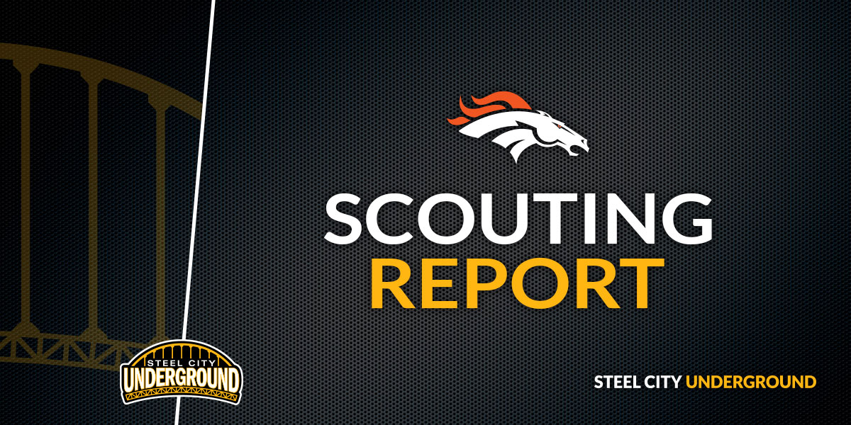 Steelers vs. Broncos Scouting Report