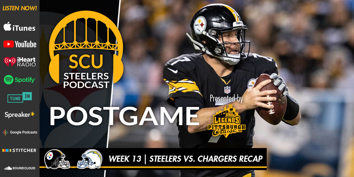 Pointing fingers and placing blame in the Steelers loss to the Chargers