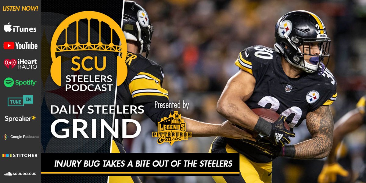 Daily Steelers Grind: Injury bug takes a bite out of the Steelers