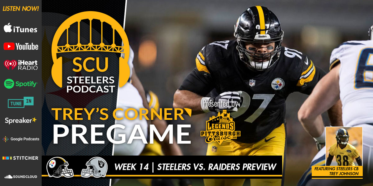 Trey's Corner: Steelers/Raiders Preview