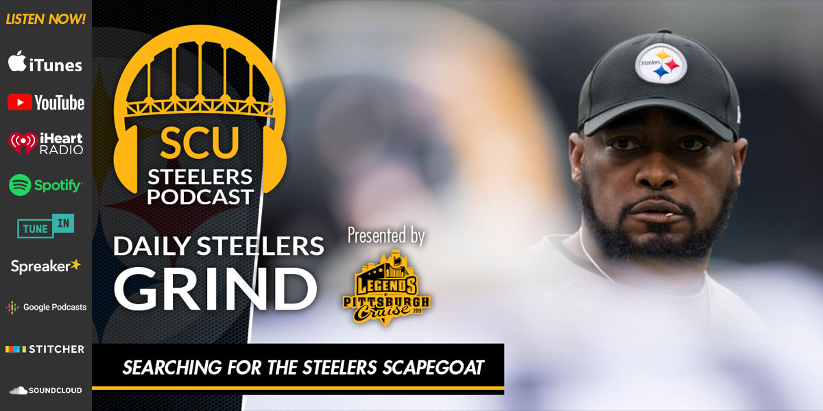 Searching for the Steelers scapegoat