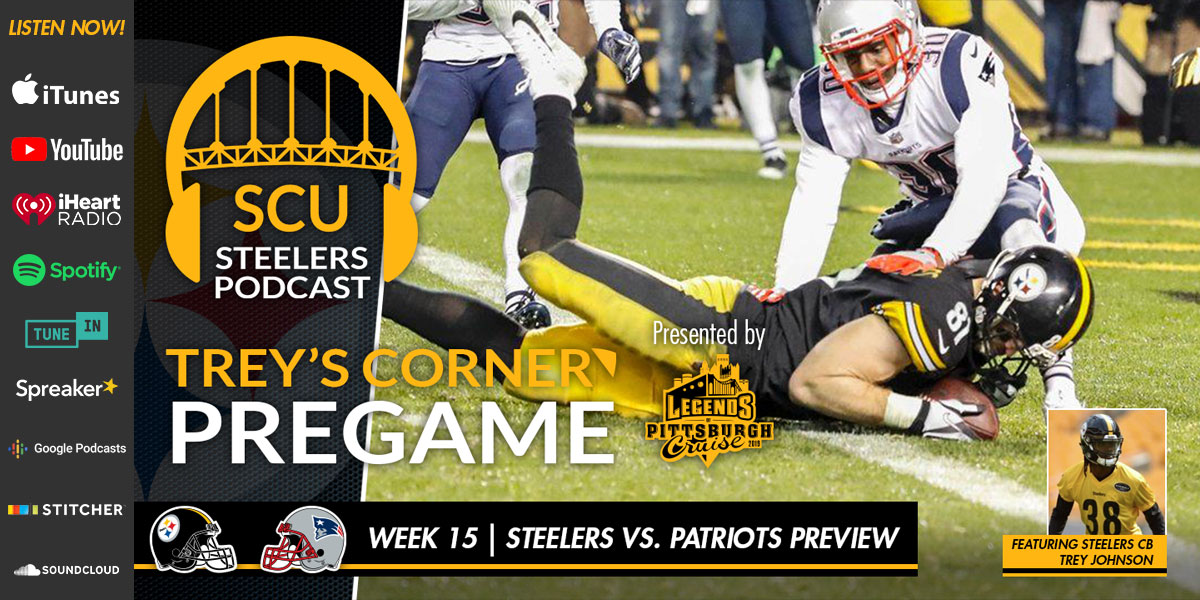Trey's Corner: Will the Steelers snap their losing streak against the New England Patriots?