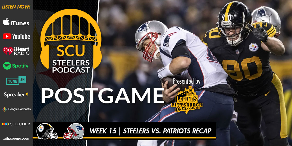 Pittsburgh Steelers stun the New England Patriots to snap three-game losing streak
