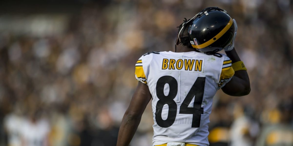 Pittsburgh Steelers WR Antonio Brown
