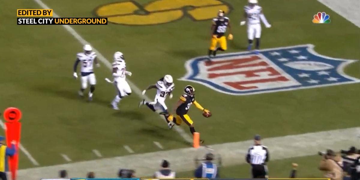 Pittsburgh Steelers RB Jaylen Samuels