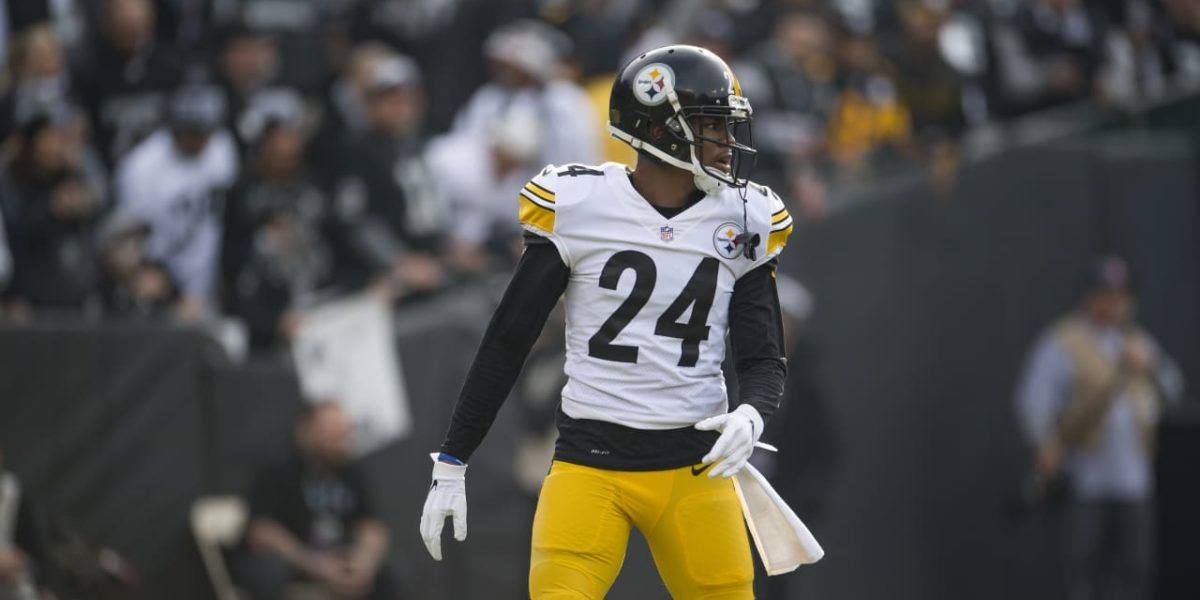 Pittsburgh Steelers CB Coty Sensabaugh