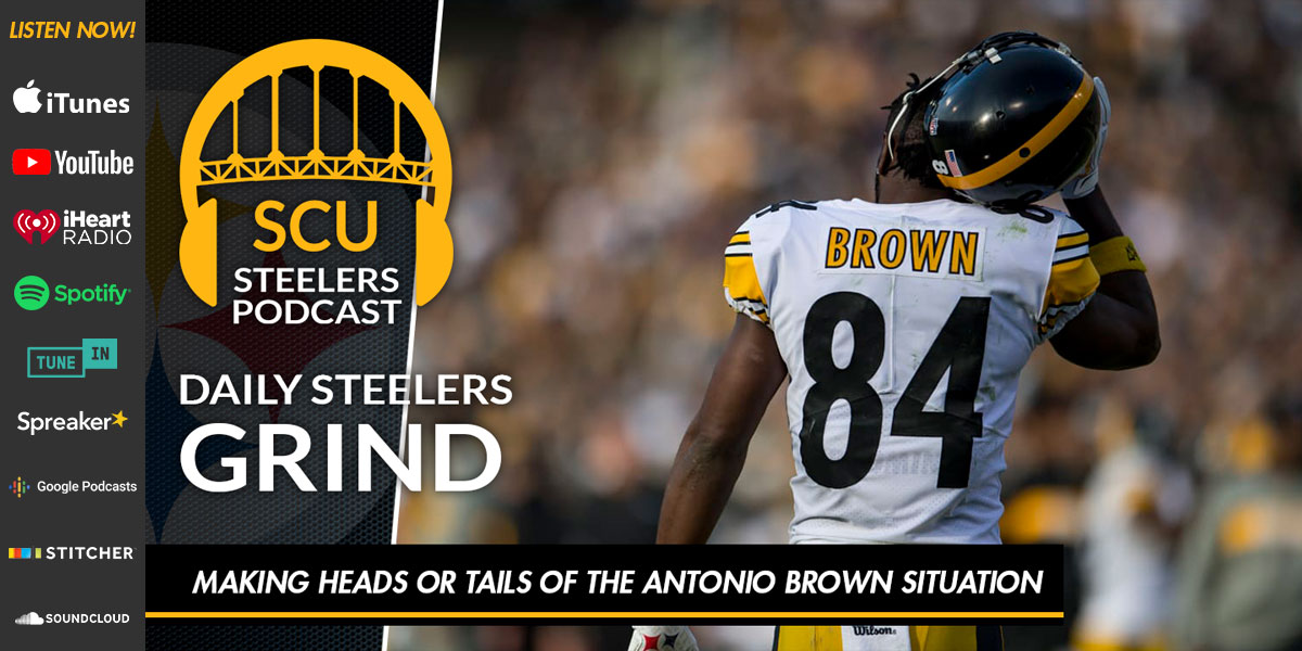 Making heads or tails of the Antonio Brown situation