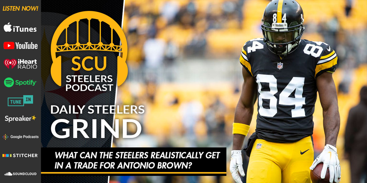 What can the Steelers realistically get in a trade for Antonio Brown?