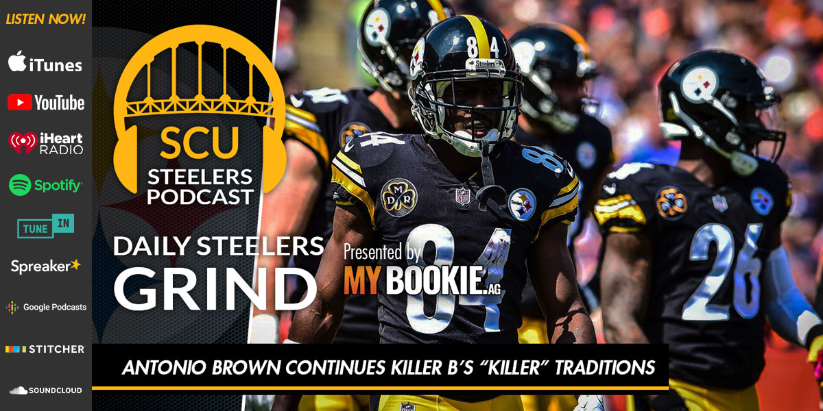 "Antonio Brown continues Killer B's ""killer"" traditions"