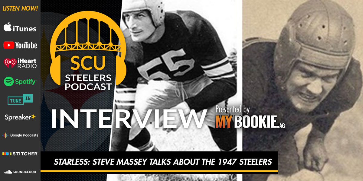 Starless: Steve Massey talks about the 1947 Steelers in this exclusive interview