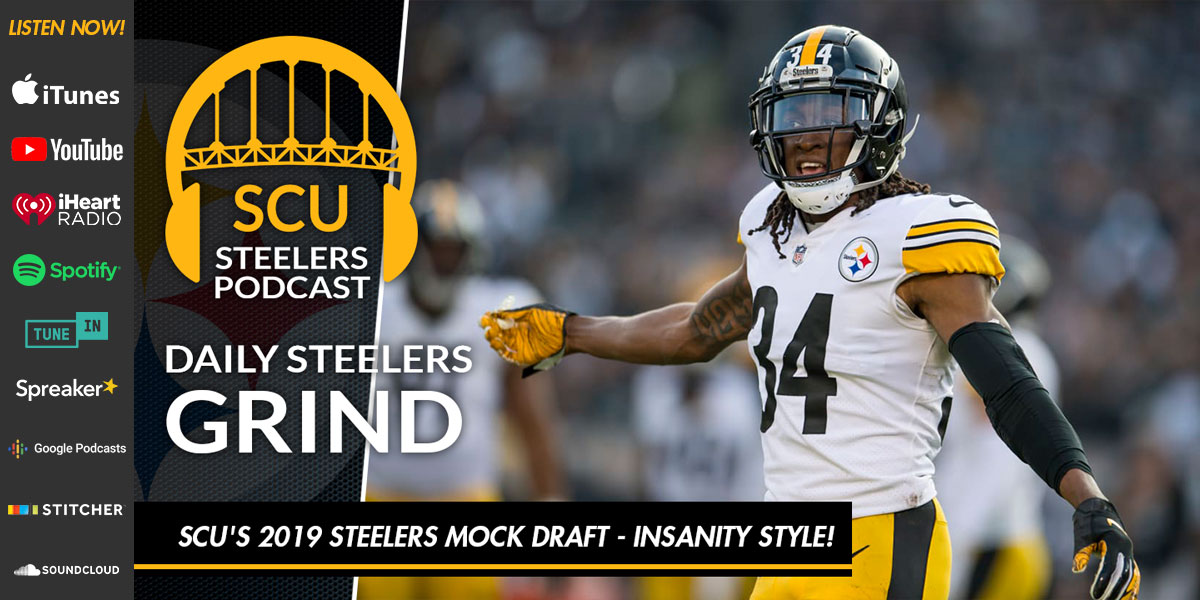"Seven round ""insanity style"" Steelers mock draft"