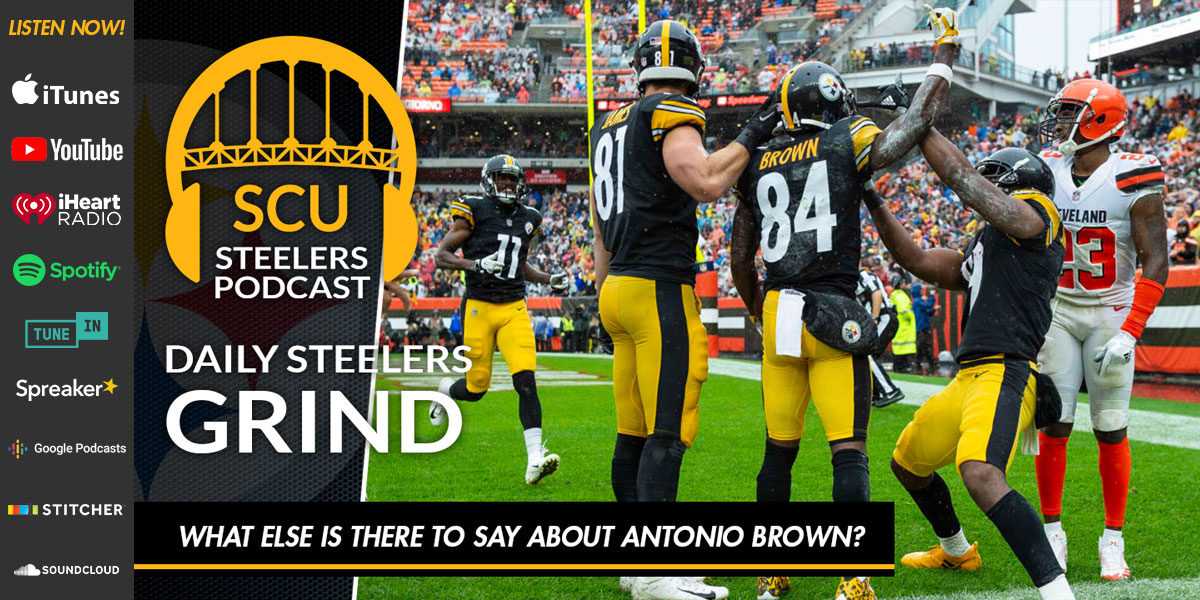 What else is there to say about Antonio Brown?