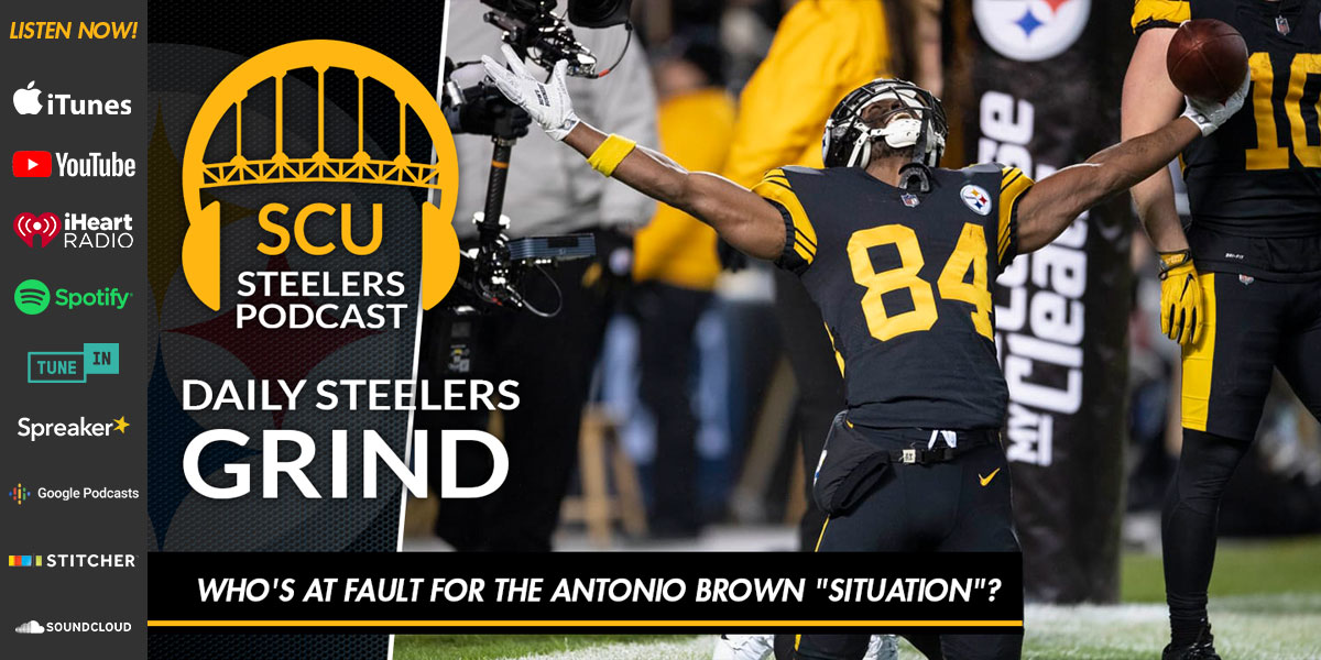 "Who's at fault for the Antonio Brown ""situation""?"