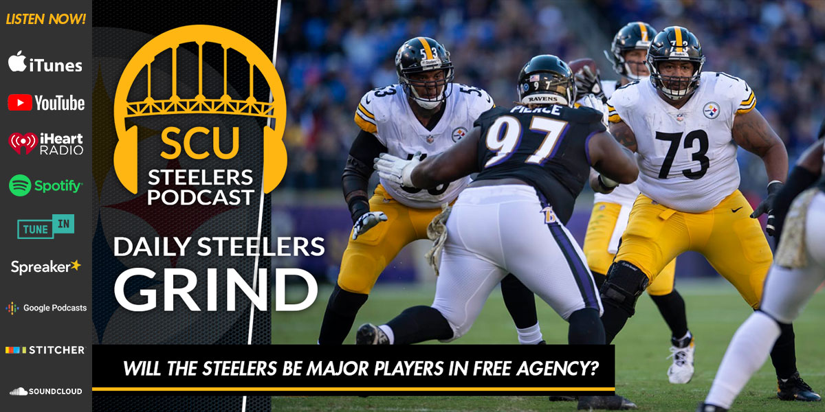 Will the Steelers be major players in free agency?