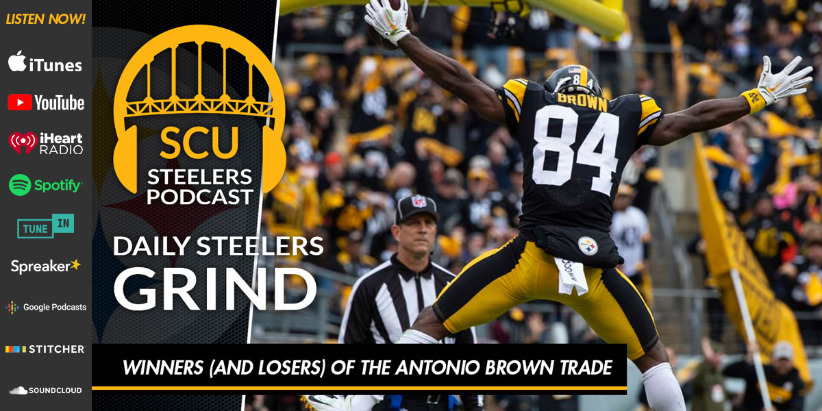 Winners (and losers) of the Antonio Brown trade