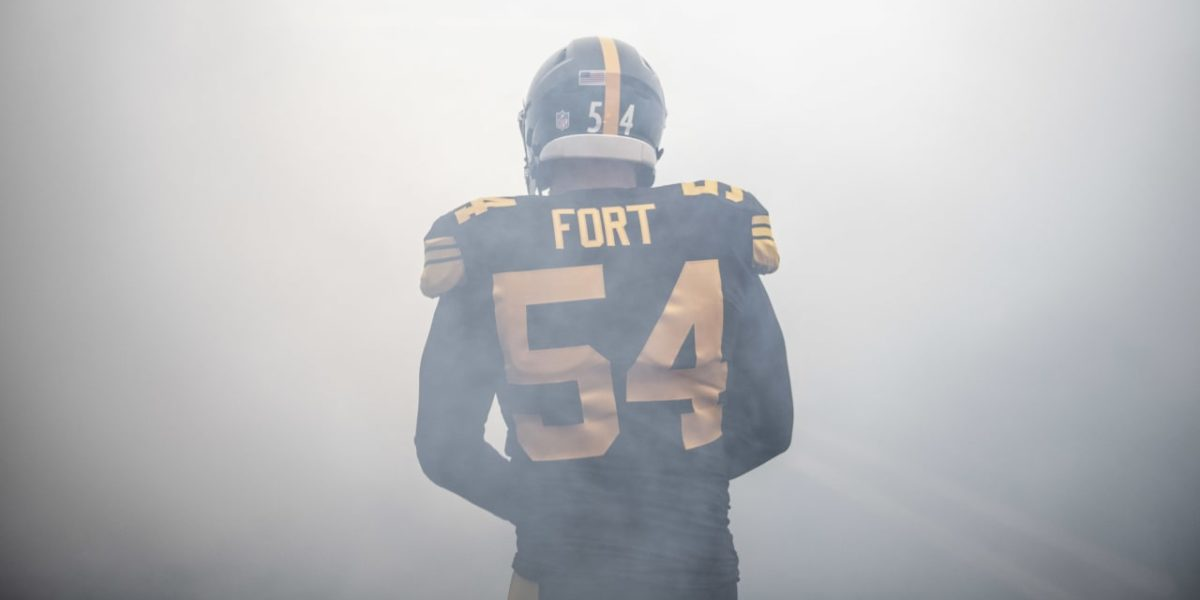 Pittsburgh Steelers LB L.J. Fort