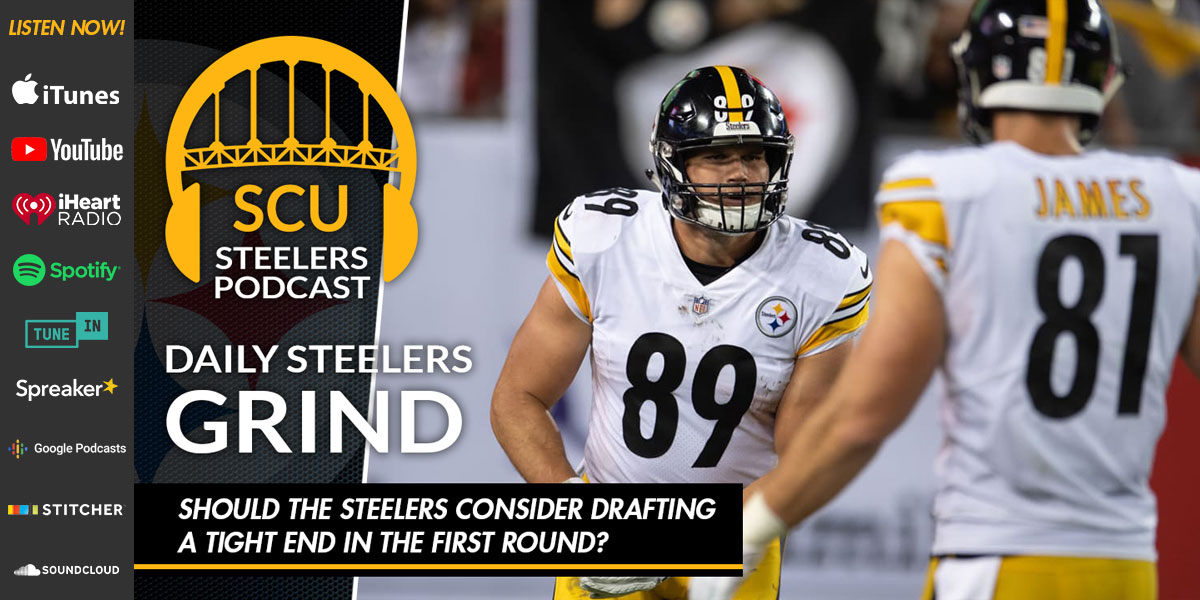 Should the Steelers consider drafting a tight end in the first round?