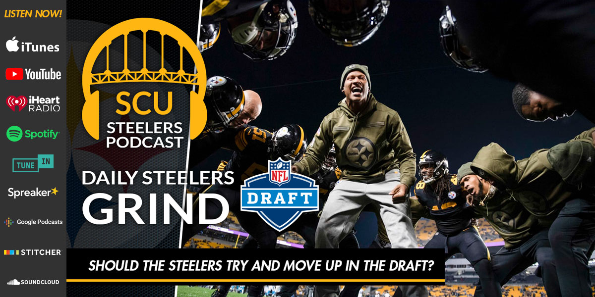 Should the Steelers try and move up in the draft?