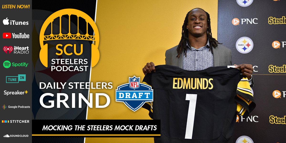 Mocking the Steelers Mock Drafts